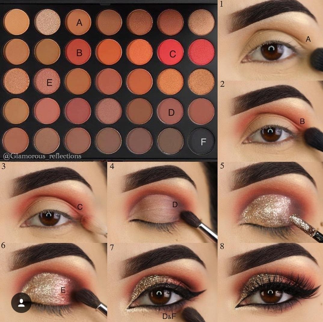 Pin by Shiramet on Makeup night Eye makeup steps