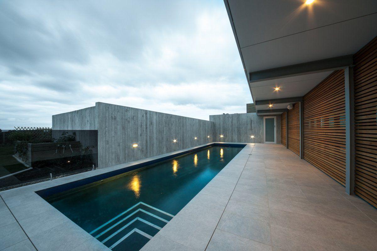 Okura House By Bossley Architects E Pools Pinterest - Modern-okitu-house-by-pete-bossley