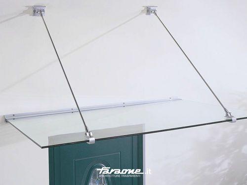 auvent en verre pour portes et fen tres gran sasso by. Black Bedroom Furniture Sets. Home Design Ideas
