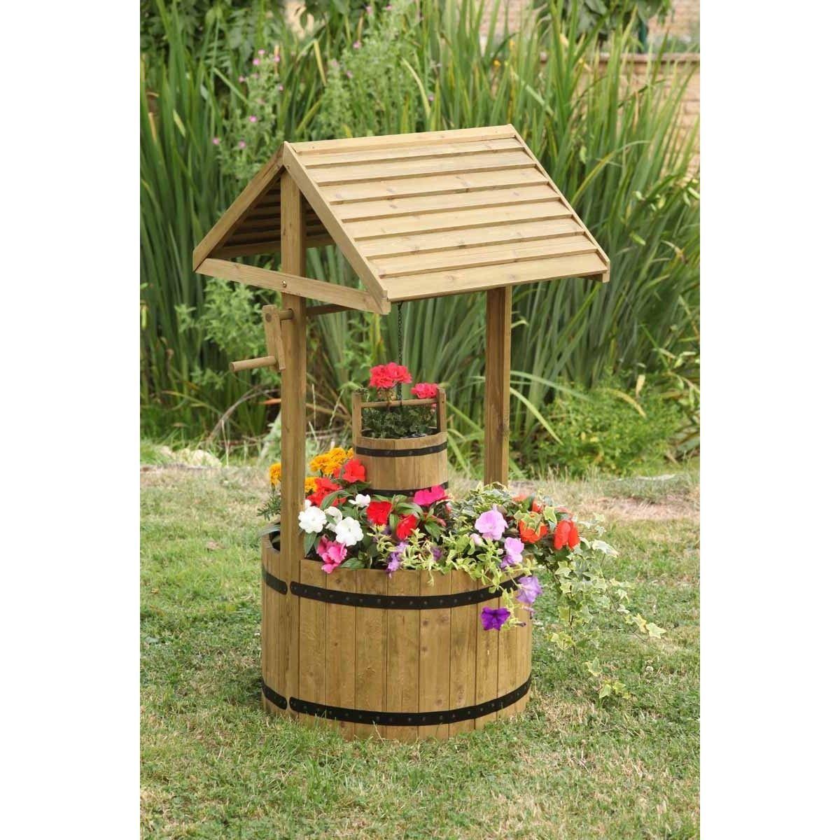 Smart Garden Wishing Well Planet Garden Planters For Sale Wishing Well Garden Smart Garden Outdoor Flowers