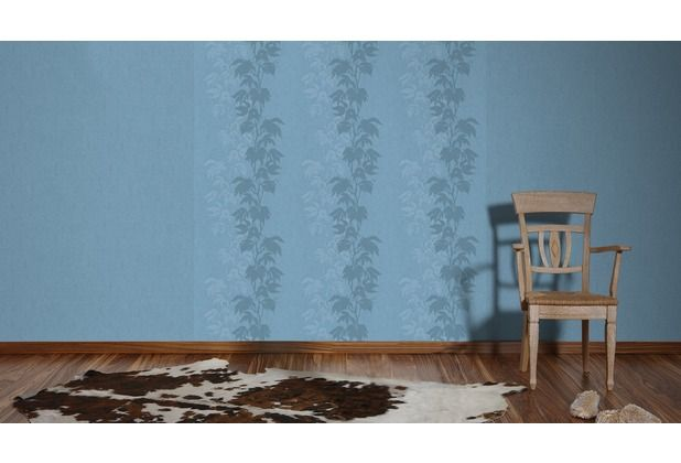 Schönes Design, mit der Grundfarbe Blau Verziert wird diese - tapeten design schlafzimmer