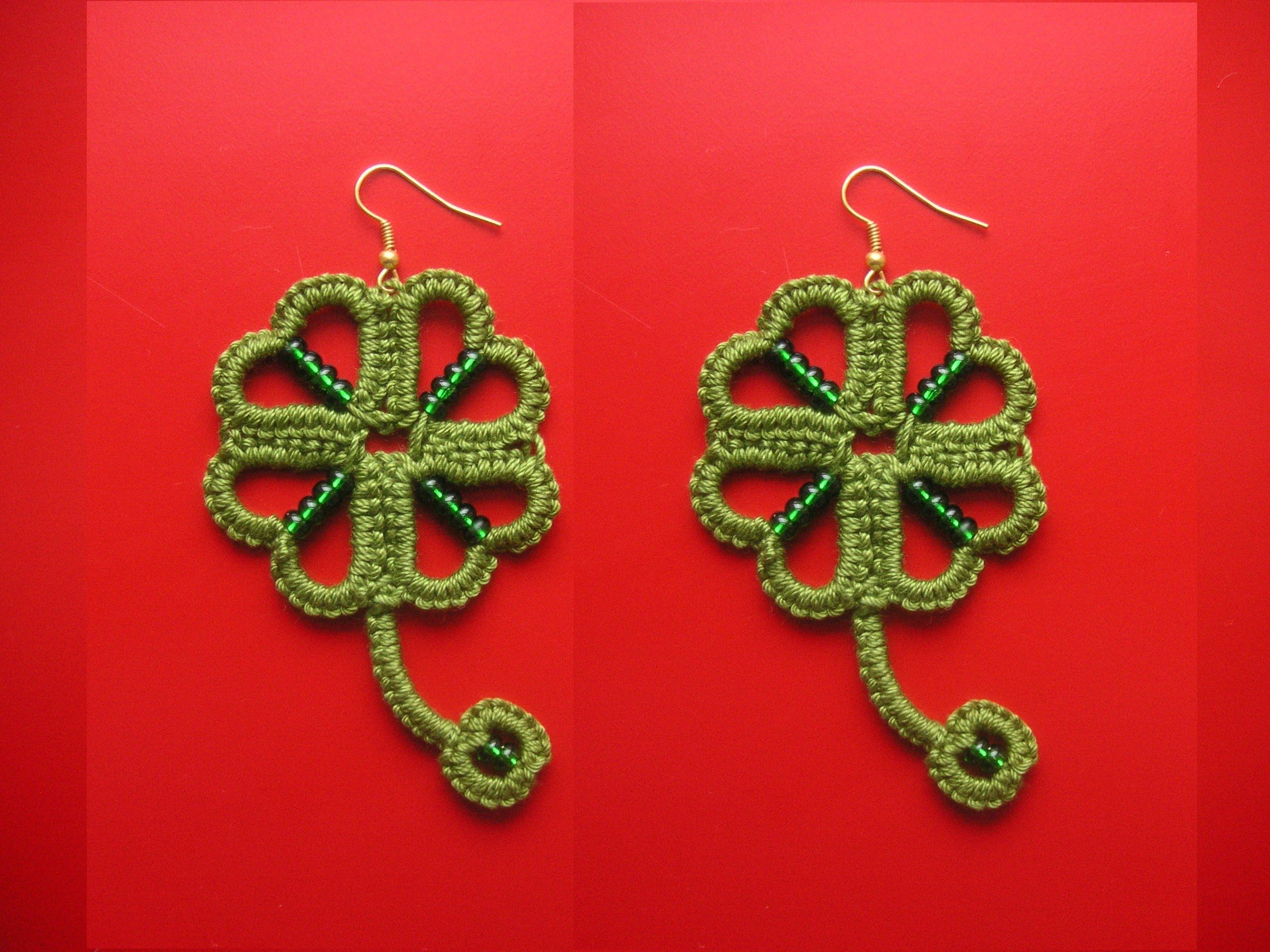This Is The Spoken And Visual Instruction For Needle Tatting My Simple Flower Pendant