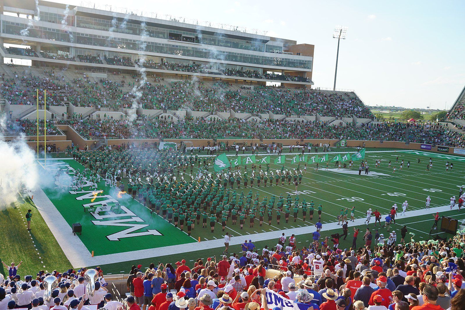 UNT Is One of 15 Schools That Gives Its Football Coach