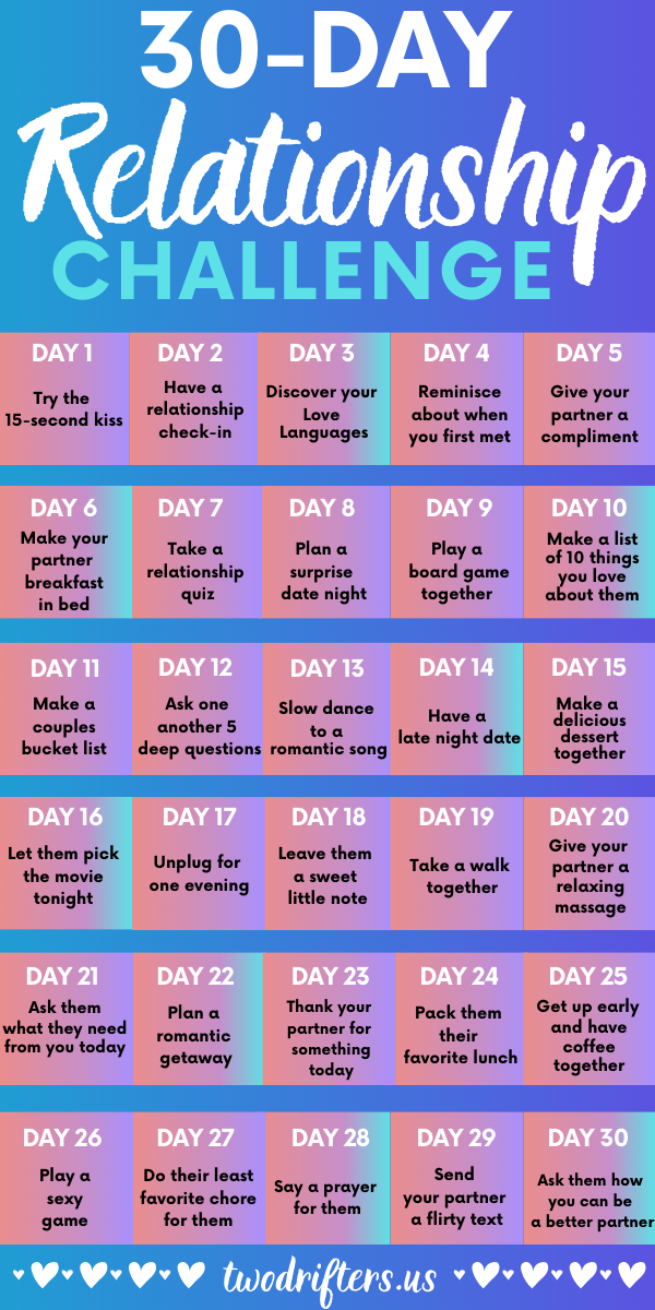 The 30 Day Relationship Challenge That Will Bring Couples Closer