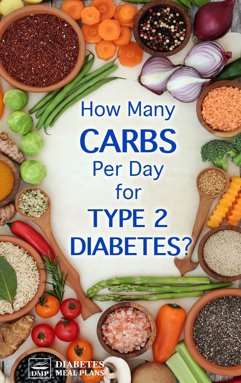 How Many Carbs Per Day For People With Type 2 Diabetes