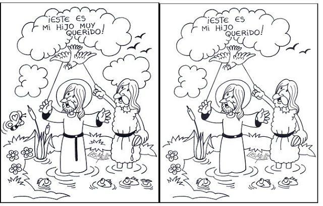 La Catequesis   BAUTISMO DE JESUS   Pinterest   Religiones ...
