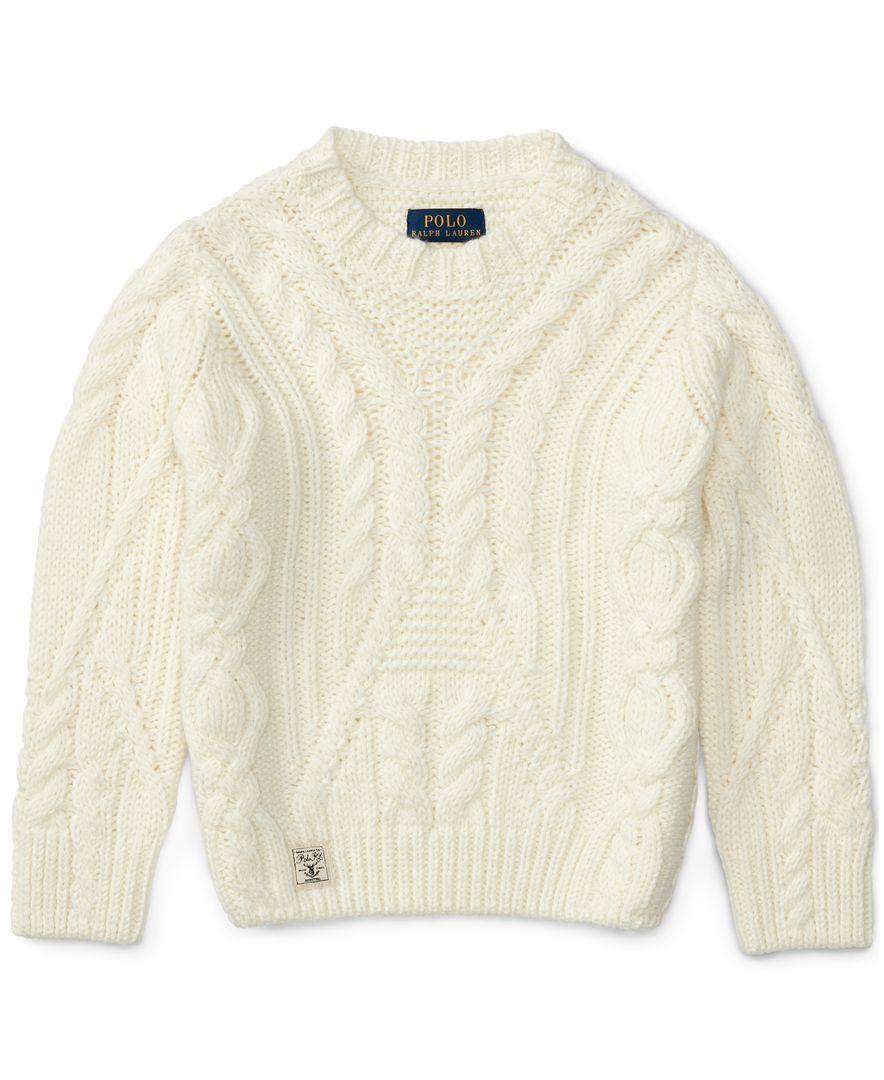 6f34cf4de Ralph Lauren Cable-Knit Sweater