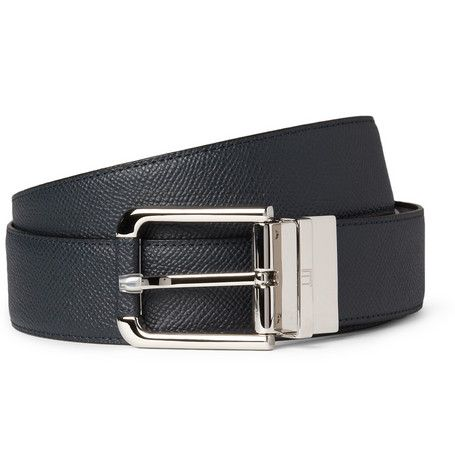 67bb96bdc5c Alfred Dunhill Cut-to-Fit Reversible 3.5cm Leather Belt