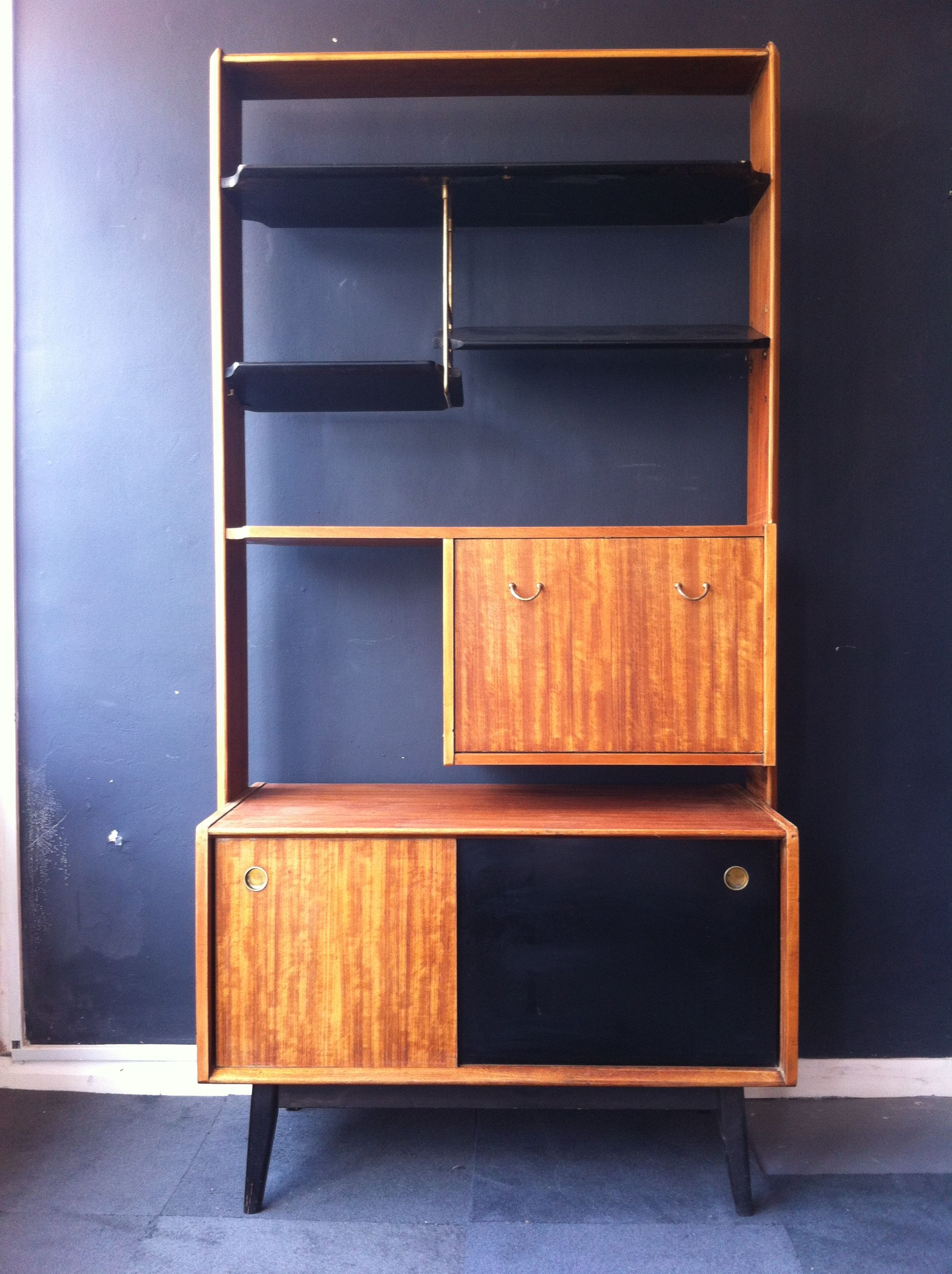 1950s G Plan Librenza room divider wall unit available at www