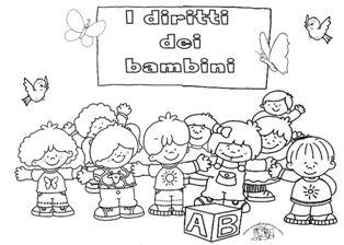 Popolare Diritti dei bambini | A.s.2016/2017 | Pinterest | Bambini, Scuola  RV41