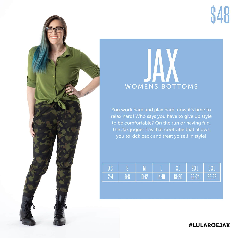 Lularoe Jax Jogger Pants Size Chart In 2020 Lularoe Styling Lularoe Kids Leggings Size Lularoe Styles Guide