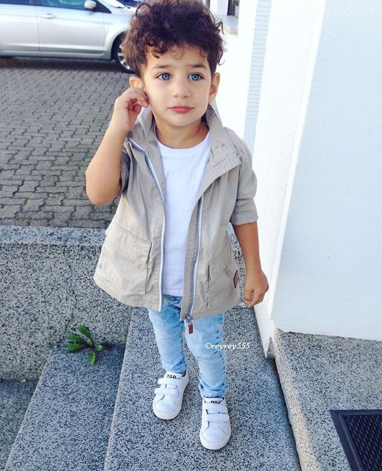 Toddler Outfits · Kid fashion style fall boy baby cargo jacket blue jeans  adidas Cute Kids Fashion 80f05a29e