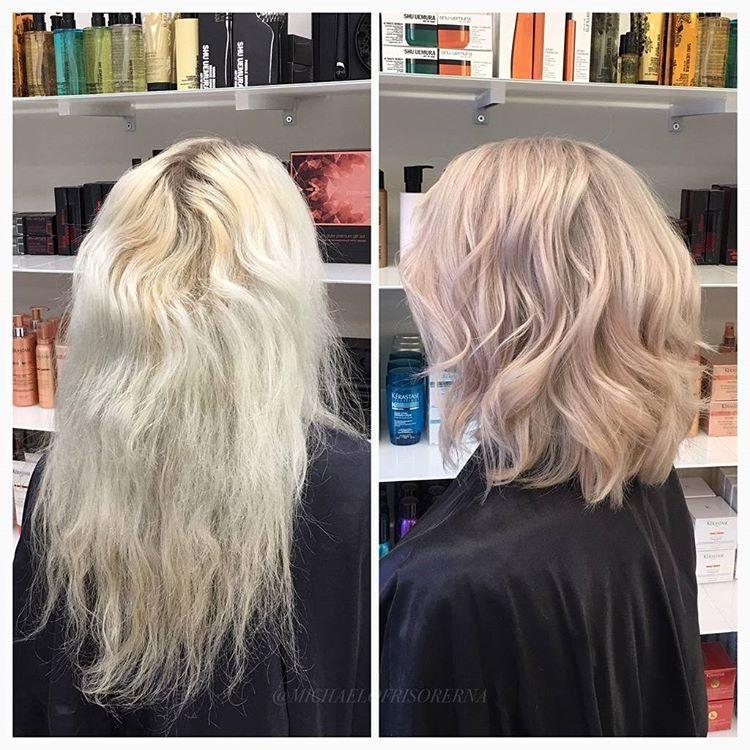 olaplex förstör håret