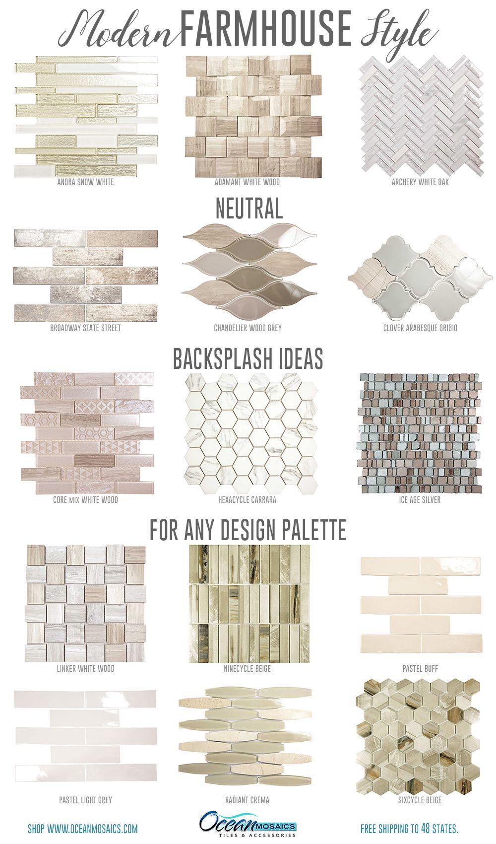 Farmhouse Kitchen Backsplash Tile Ideas