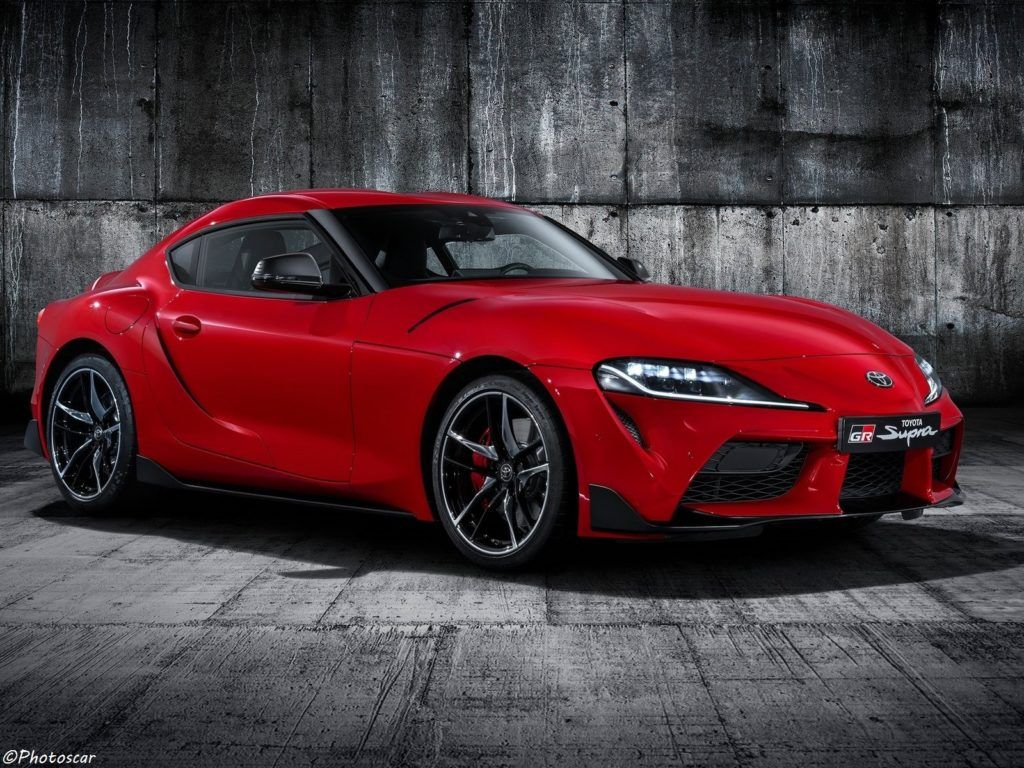 Toyota Supra 2020 Nouveau coupé sport deux places à