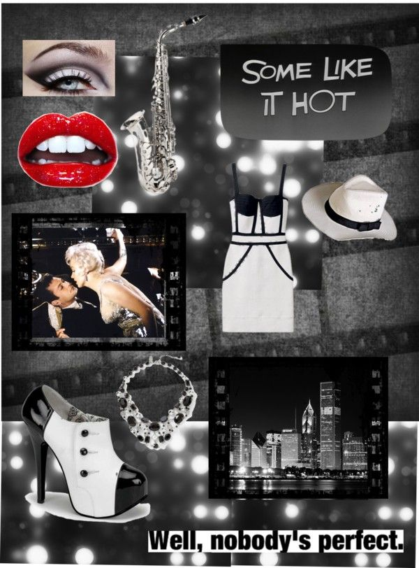 """""""Some like it hot"""" by gwenguin ❤ liked on Polyvore"""