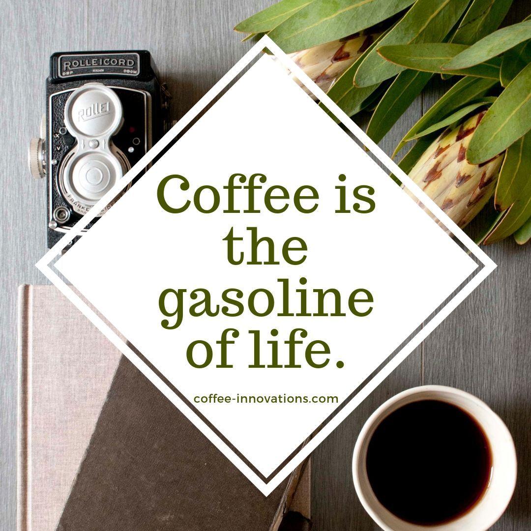 Good Days Start with Coffee... coffee sweetness Carmel