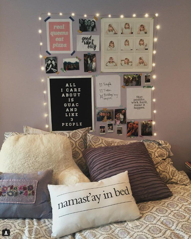 11 Breathtaking Ways To Decorate Your Dorm With String Lights For The Holidays