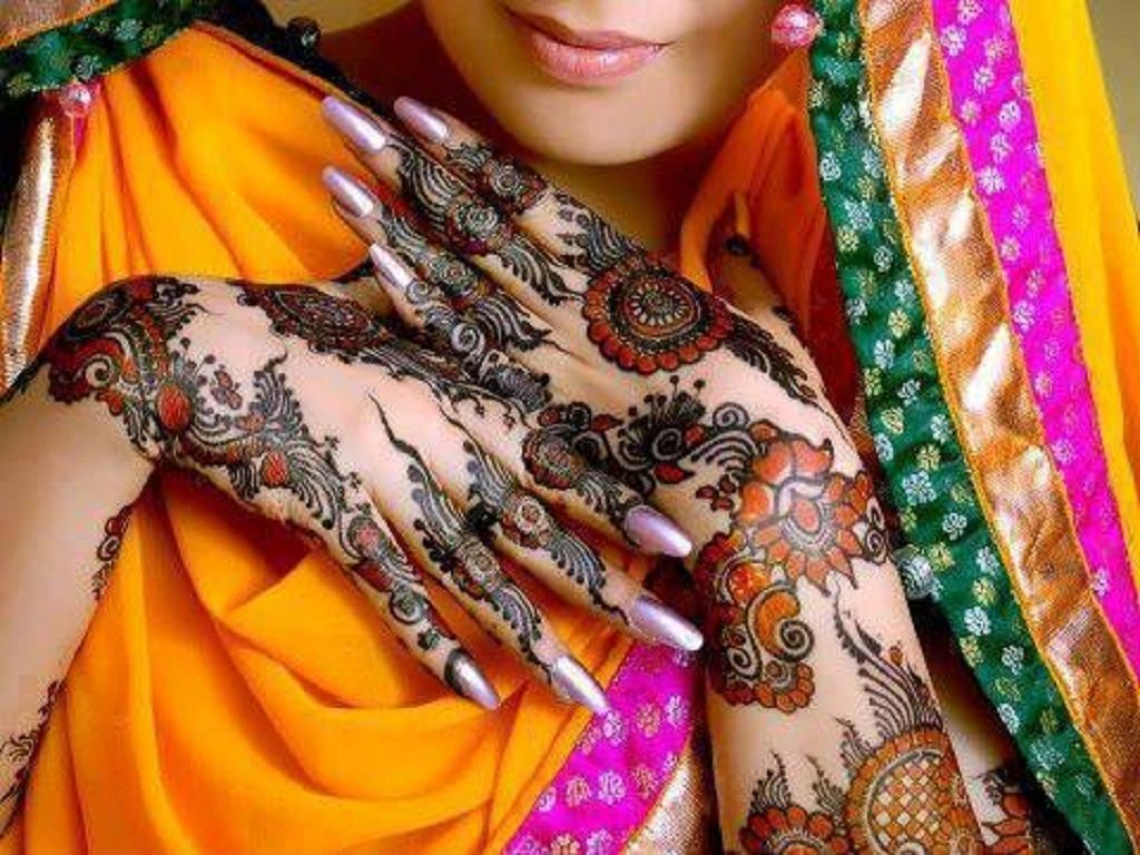 Mehndi Hands Wallpapers : Collection of beautiful mehndi designs free hd wallpapers