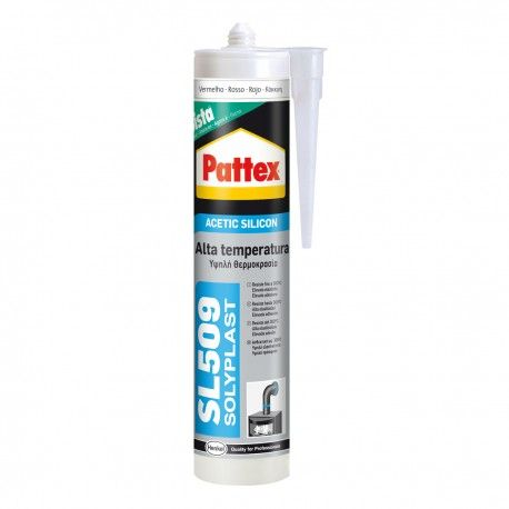 Pattex Silicone SL509 Rosso Alta Temperatura 300 gradi Henkel ml 300