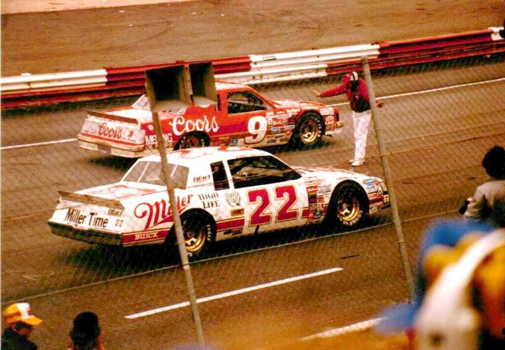 22 Bobby Allison 9 Bill Elliott 1984 North Wilkesboro