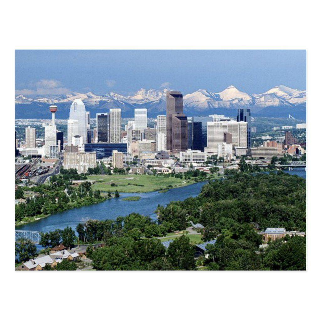 calgary, alberta postcard in 2020 Calgary