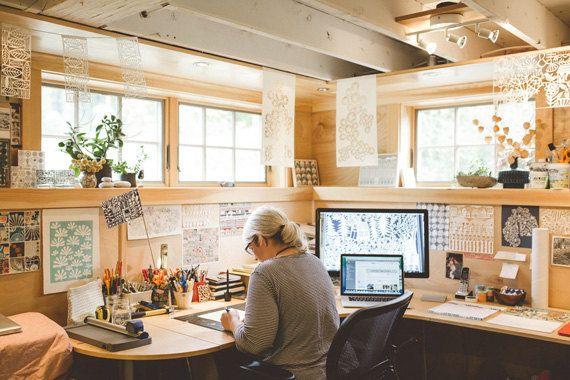 Inspiring workspaces swallowfield studio bureau