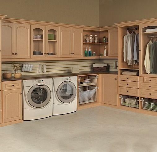 Closet World Custom Laundry Room Laundry Room Decor Laundry