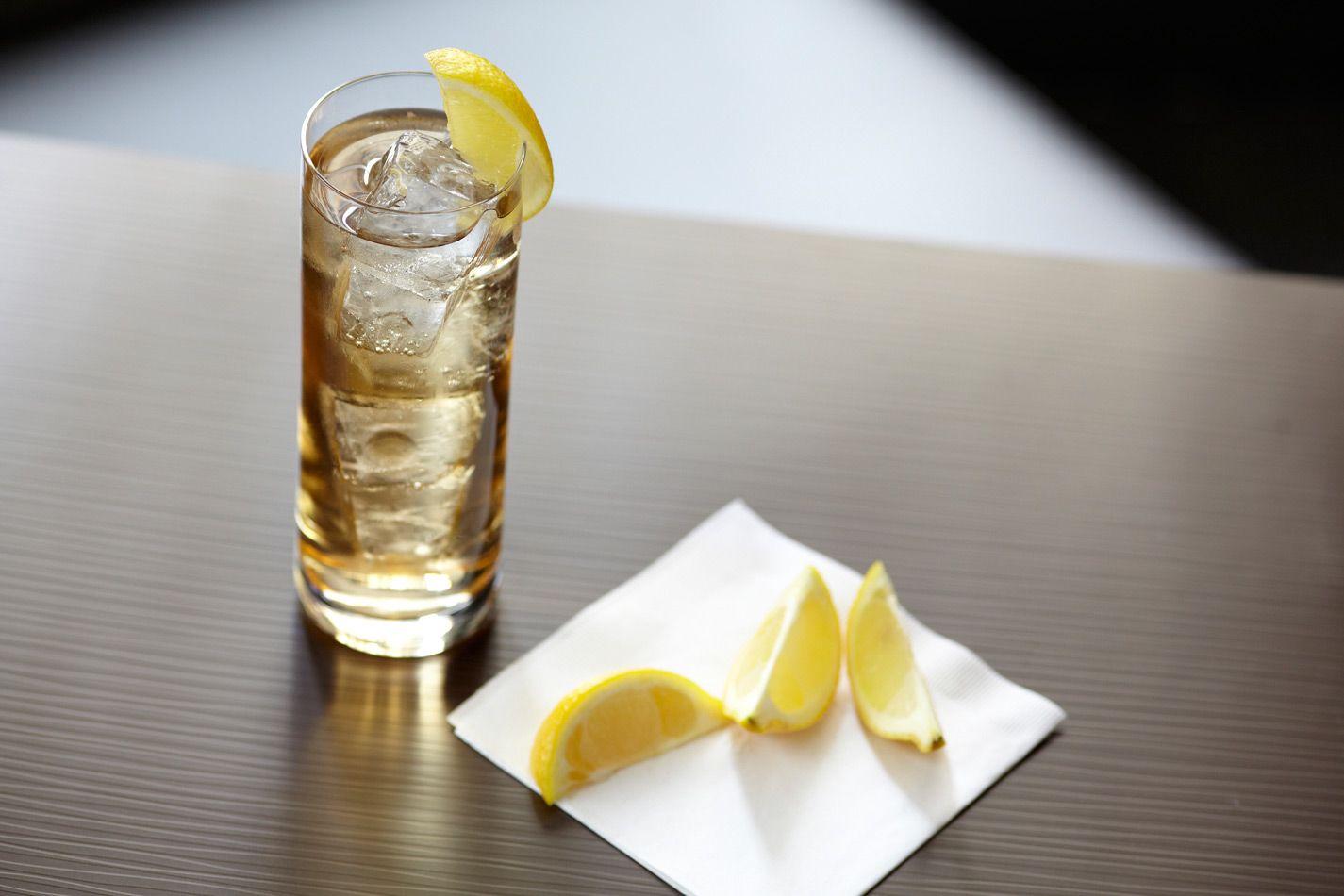 Tropical Iced Tea with Captain Morgan® Original Spiced Rum | thebar.com