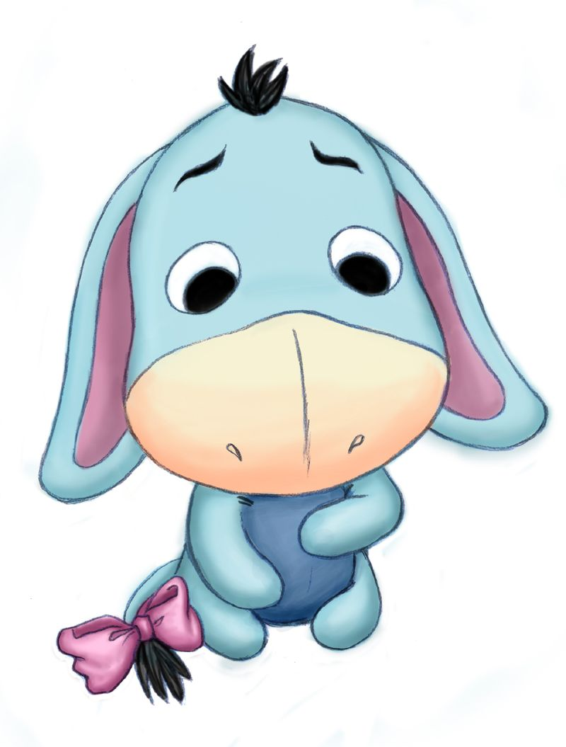 baby Eeyore where it all started