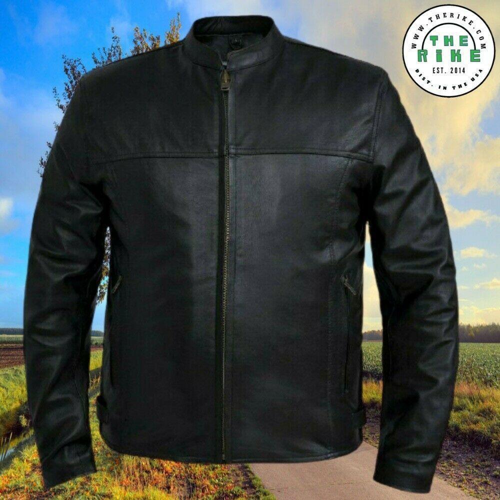 Premium Goatskin Leather Lightweight Motorcycle Jacket Men Leather Jacket S 5xl Motorcycle Jacket Mens Leather Jacket Men Leather Men [ 1000 x 1000 Pixel ]