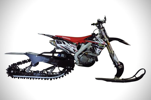 Snow Dirt Bike >> Mountain Horse Dirt Bike Snow Kit 2 R I D E Honda Dirt Bike