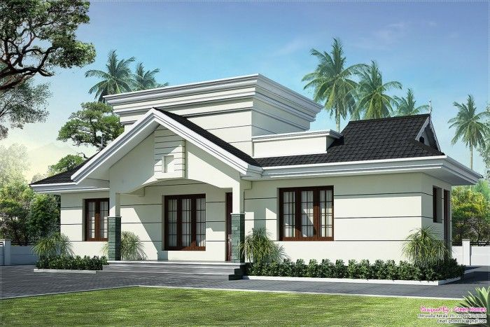 Single Floor Kerala House Plan With Images Kerala House Design