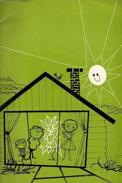 (How to Grow) Better House Plants, 1952. No artist mentioned, but could be Albert Aquino.