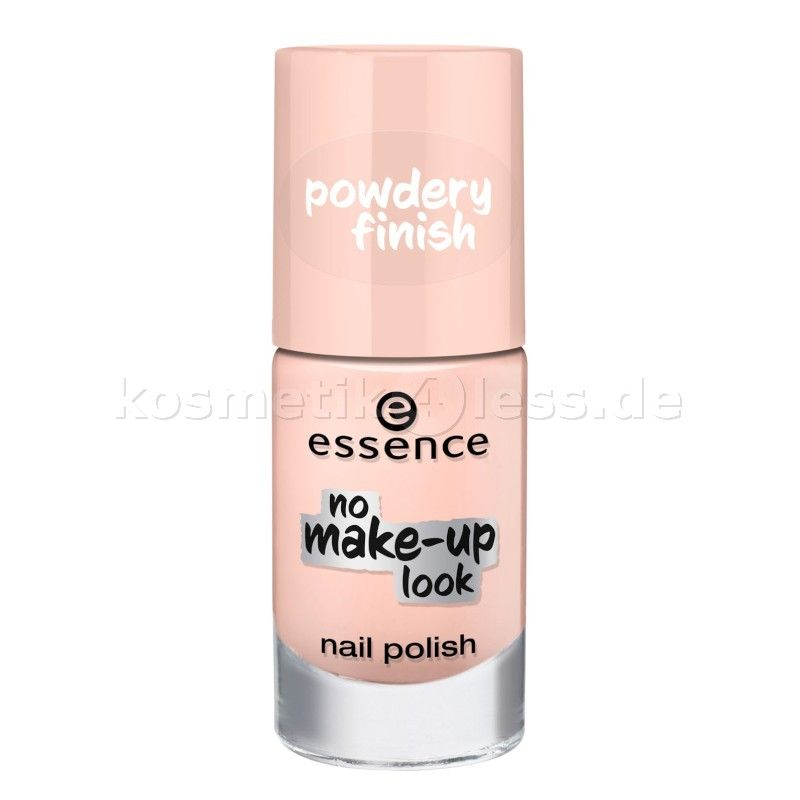 essence - nagellack - no make-up look nail polish 02 - powdery beige ...