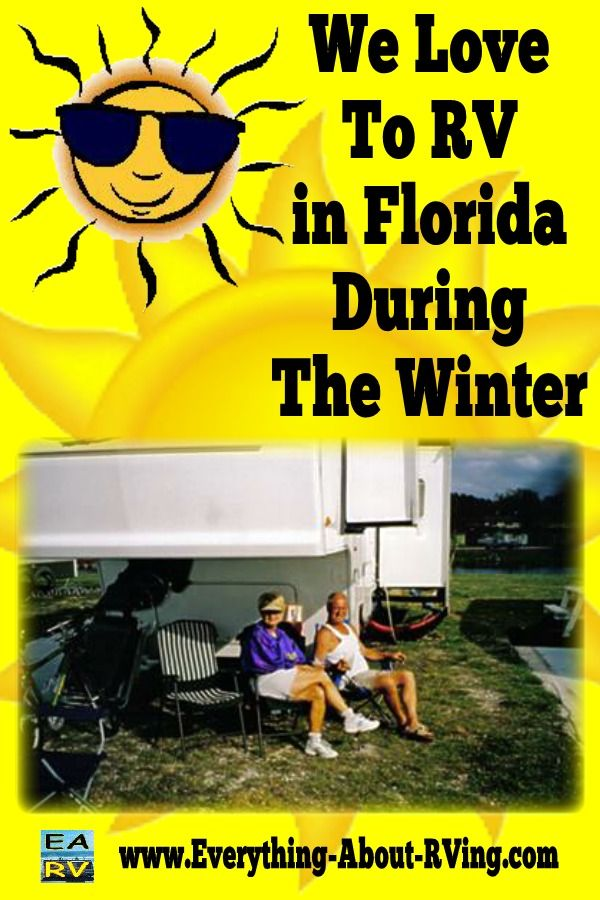 We Love To RV During The Winter At Lake Okeechobee Florida ...