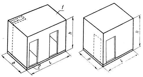Серия дома П44к: Конструкция сантехкабины