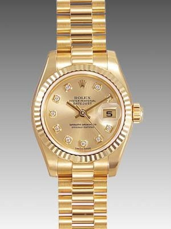 Gold Rolex Watches For Ladies