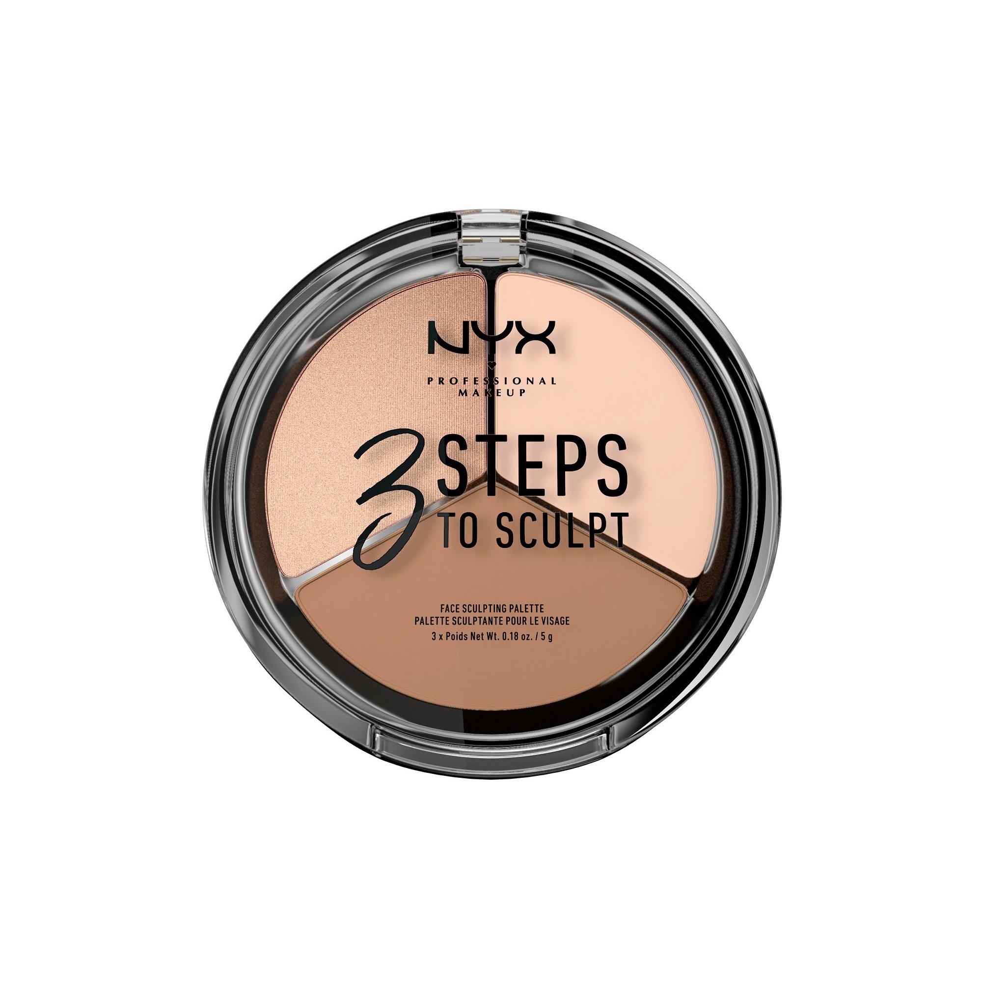 NYX Professional Makeup 3 Steps to Sculpt Fair Контурный