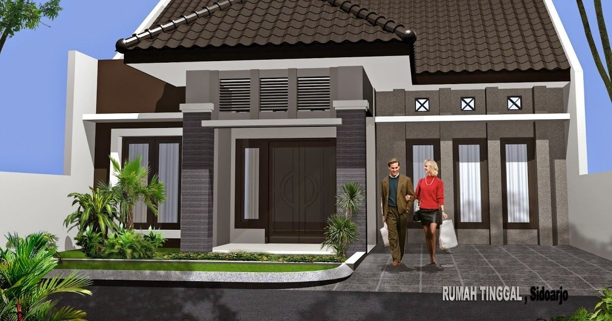 Kumpulan Gambar Atap Rumah Minimalis 1 Lantai Desain Rumah Desain Atap Rumah Minimalis 1 Lantai Model Datar Kumpula Rumah Minimalis Home Fashion Gaya Rumah