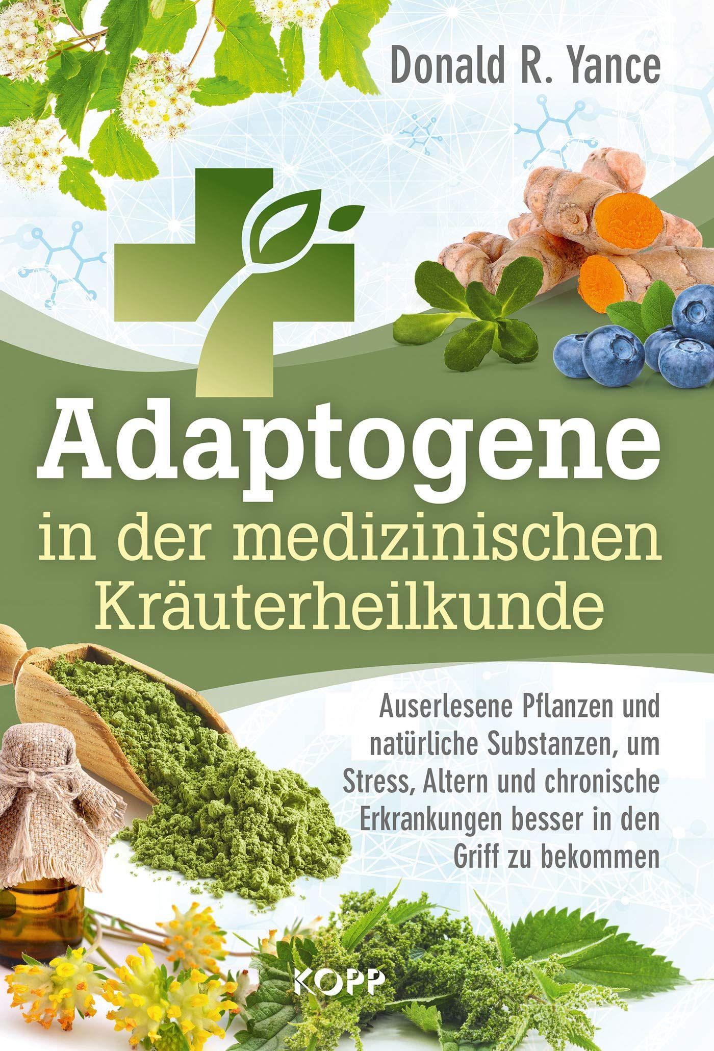 natürliche Substanzen, um Stress, Altern und chronische Erkrankungen besser in den Griff zu bekomme...