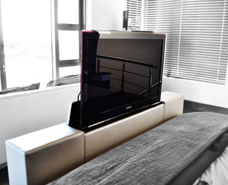 Foot Of The Bed Tv Lift With 40inch Home Decor In 2019