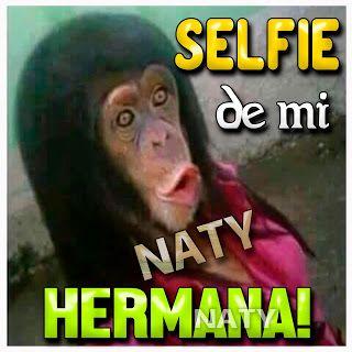 Postales Para Compartir.: SELFIE DE MI HERMANA!!