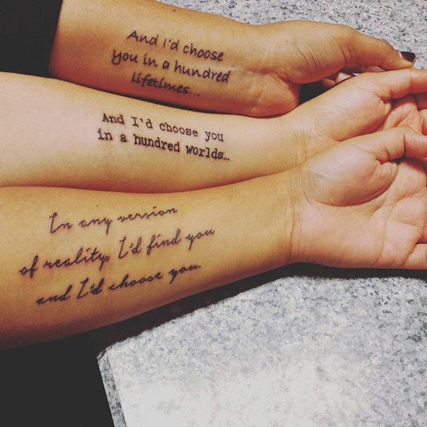 Brother And Sister Tattoos Matching Siblings Have Some Clever Ideas Matching Sister Tattoos Sister Tattoos Sister Tattoo Designs