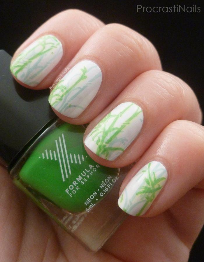 ProcrastiNails: Sephora Formula X Bamboo Stamping!   My Nail Art ...