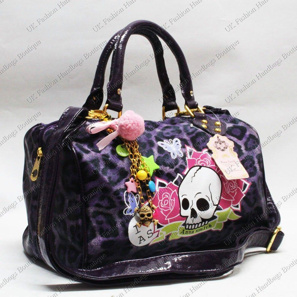 Anna Smith Skull Bag