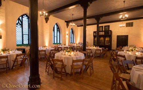 Chase Court Wedding Reception Baltimore Venue Rustic Decor