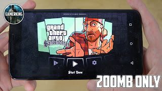 GTA SAN ANDREAS APK+DATA HIGHLY COMPRESSED IN (200MB) - Mod Apk Free