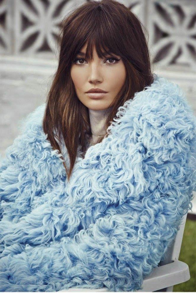 Lily Aldridge by David Roemer for S Moda November 2014 Gucci