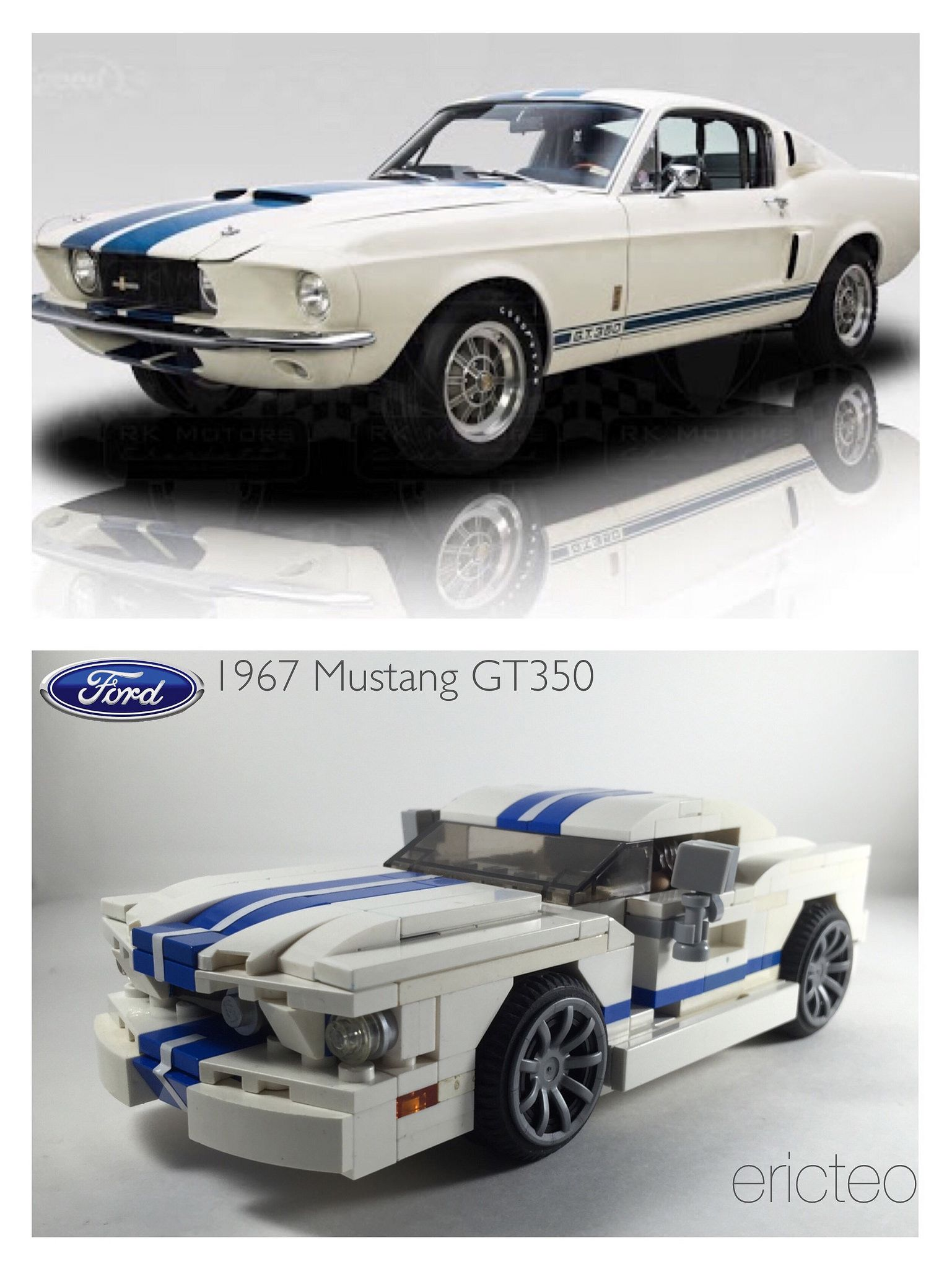 1967 Ford Mustang GT350 a modified version of my mustang builds